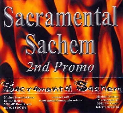 Sacramental Sachem - 2nd Promo