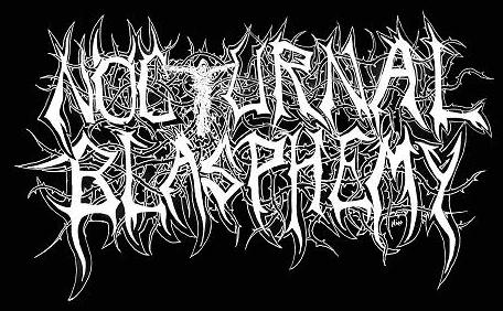 Nocturnal Blasphemy - Logo