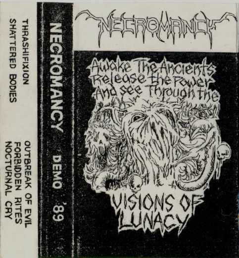Necromancy - Visions of Lunacy