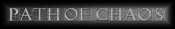 Path of Chaos - Logo
