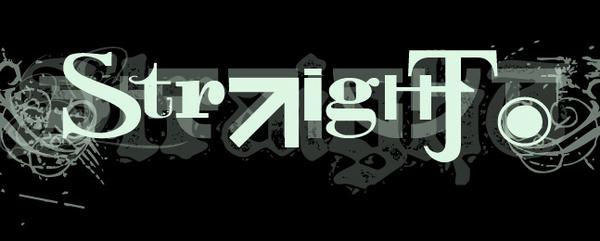 Straight - Logo