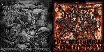 Mortal Decay / Defeated Sanity - Mortal Decay / Defeated Sanity
