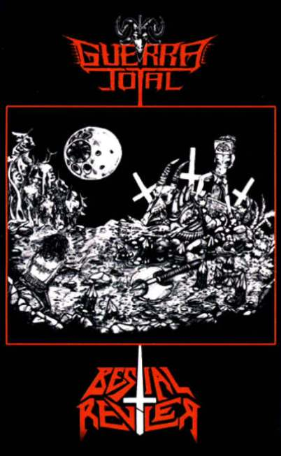 Guerra Total / Bestial Reviler - From the Maw of Hell