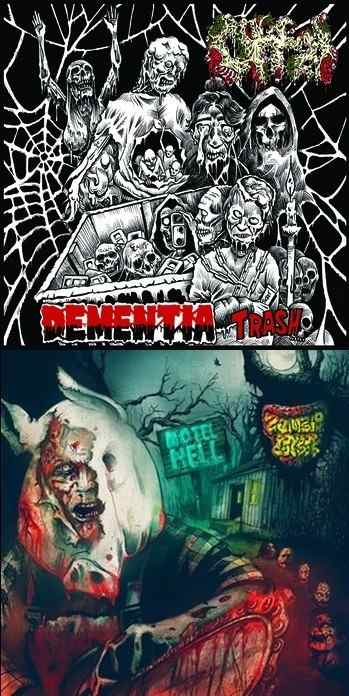 Offal / Zombie Cookbook - Dementia Trash / Motel Hell