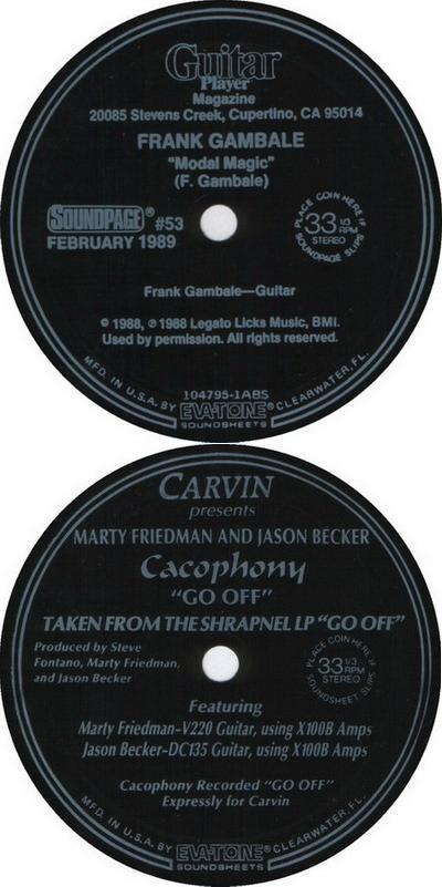 Cacophony - Modal Magic / Go Off