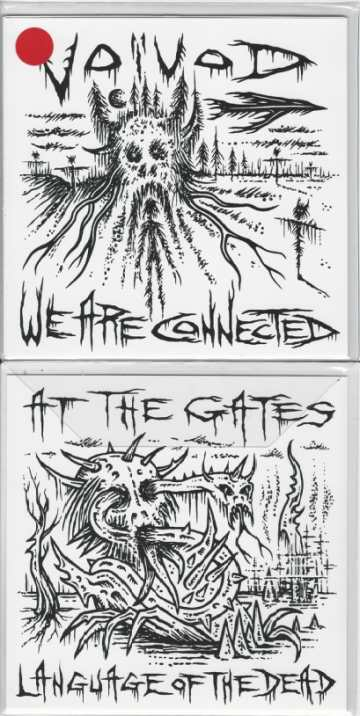 At the Gates / Voivod - We Are Connected / Language of the Dead