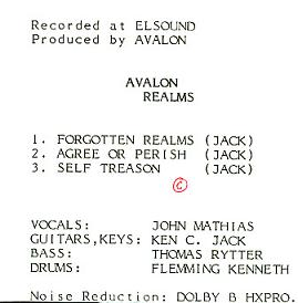 Avalon - Forgotten Realms