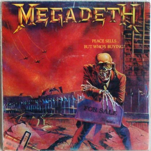 Αποτέλεσμα εικόνας για PEACE SELLS... BUT WHO'S BUYING?-Megadeth vinyl cover