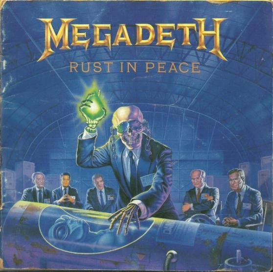 Megadeth Rust In Peace Cd Megadeth - Rust in Pea...