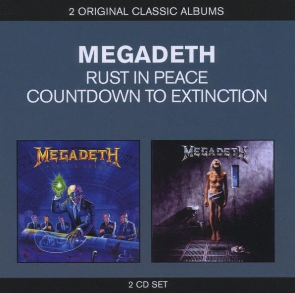Megadeth - Rust in Peace / Countdown to Extinction