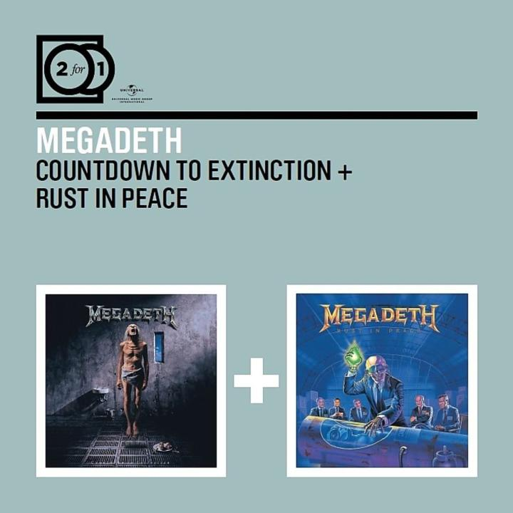 Megadeth - Countdown to Extinction / Rust in Peace