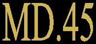 MD.45 - Logo