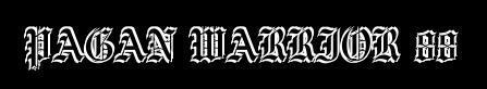Pagan Warrior 88 - Logo