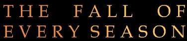 The Fall of Every Season - Logo