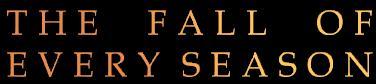 The Fall of Every Season - Logo
