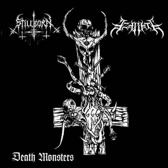 Azarath / Stillborn - Death Monsters
