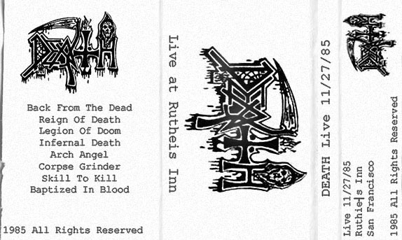 Death - Live tape #8