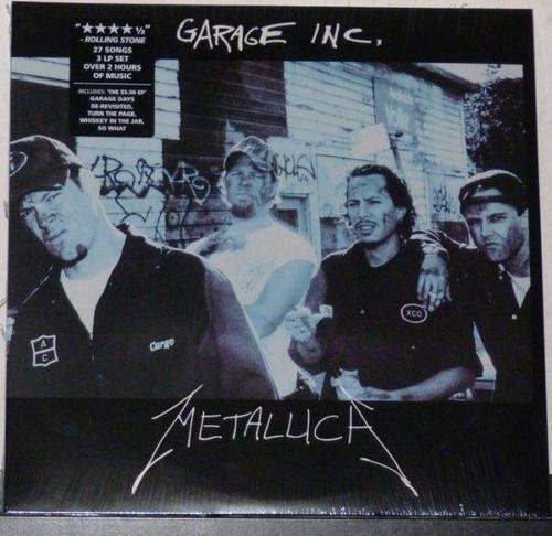 Metallica Garage Inc Cover