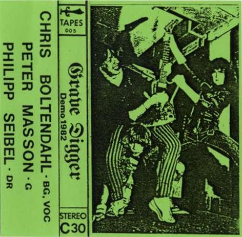 Grave Digger - Demo 1982