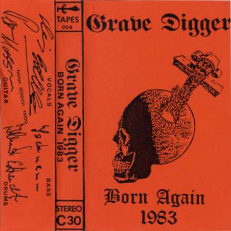 Grave Digger - Born Again