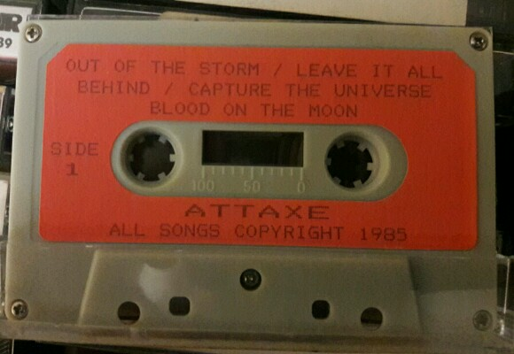 Attaxe - Out of the Storm