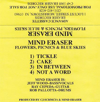 Mind Eraser - Flowers, Picnics & Blue Skies