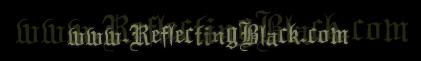 Reflecting Black - Logo