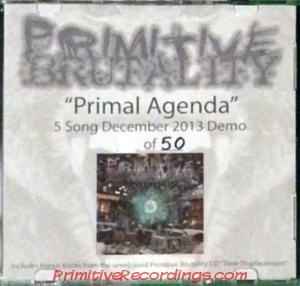 Primitive Brutality - Primal Agenda