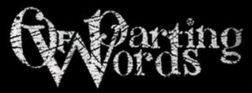Of Parting Words - Logo