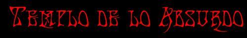 Templo de lo Absurdo - Logo