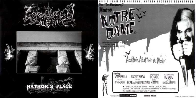 Notre Dame / Forgotten Silence - Hathor's Place / Abattoir. Abattoir du Noir