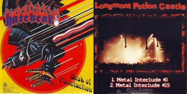 Hatebeak - Metal Interlude / Beak of Putrefaction