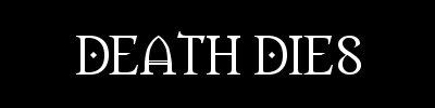 Death Dies - Logo