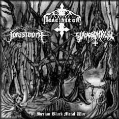 Mortinatum / Forestdome / Ghazghkull - Iberian Black Metal War
