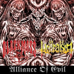 Black Mass / Hellraised - Alliance of Evil
