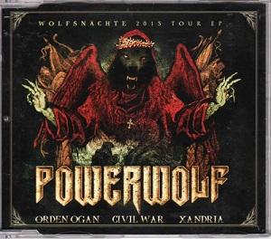Xandria / Orden Ogan / Powerwolf / Civil War - Wolfsnächte 2015 Tour EP