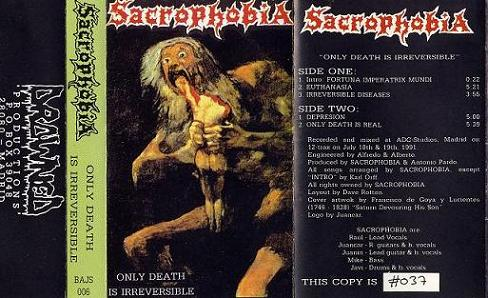 Sacrophobia - Only Death Is Irreversible
