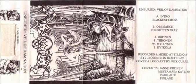 Unburied - Veil of Damnation