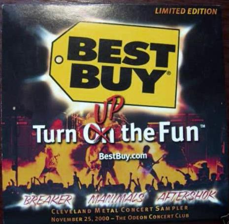 Breaker / Aftershok / Manimals - Auburn Records/Best Buy: Cleveland Metal Concert Sampler