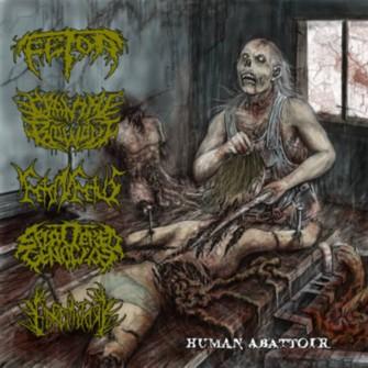 Feto in Fetus / Goremitory / Fetor / Cranial Blowout / Splattered Genocide - Human Abattoir