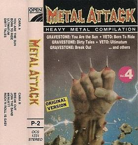 Gravestone / Veto - Metal Attack Vol. 4