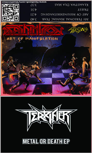 Deathinition / Terrifier - Art of Manipulation / Metal or Death
