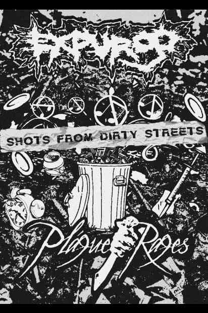 Plague Rages / Expurgo - Shots from Dirty Streets