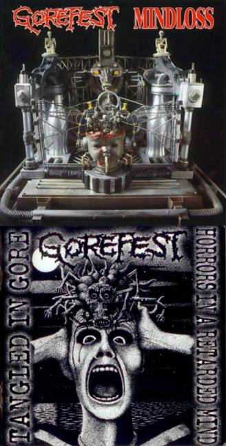 Gorefest - The Ultimate Collection Part 1 - Mindloss & Demos