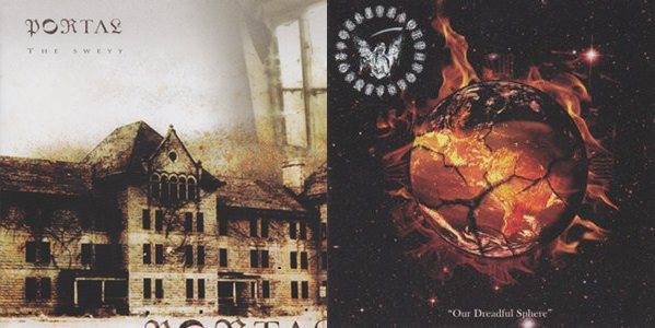 Portal / Rites of Thy Degringolade - The Sweyy / Our Dreadful Sphere