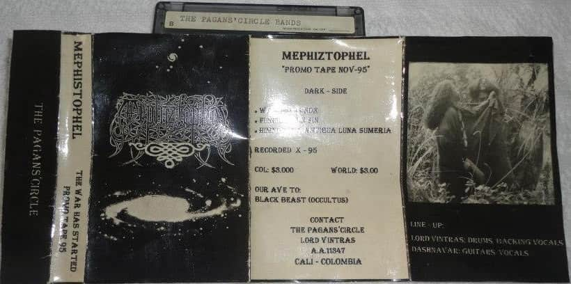 Mephiztophel - The War Has Started