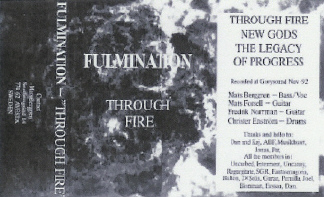 Fulmination - Through Fire