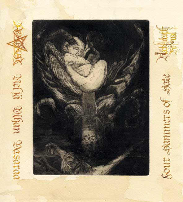 Azaghal / Black Death Ritual - Neljä vihan vasaraa / Four Hammers of Hate