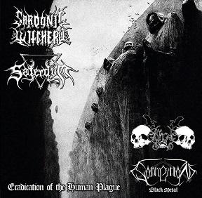 Sonneillon BM / Sardonic Witchery / Black Command / Saterdum - Eradication of the Human Plague