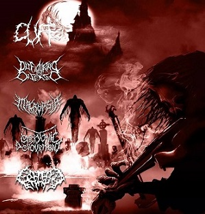 Embryonic Devourment / Splattered Entrails / Cuff / Macropsia / Disfiguring the Diseased - Kings of Slam